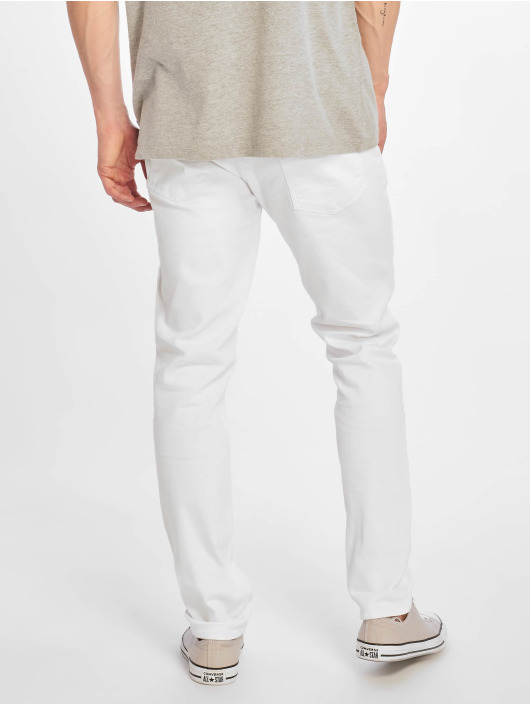Reell Jeans Slim Fit Jeans Spider white