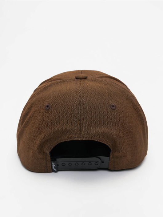 Reell Jeans Snapback Cap Pitchout braun