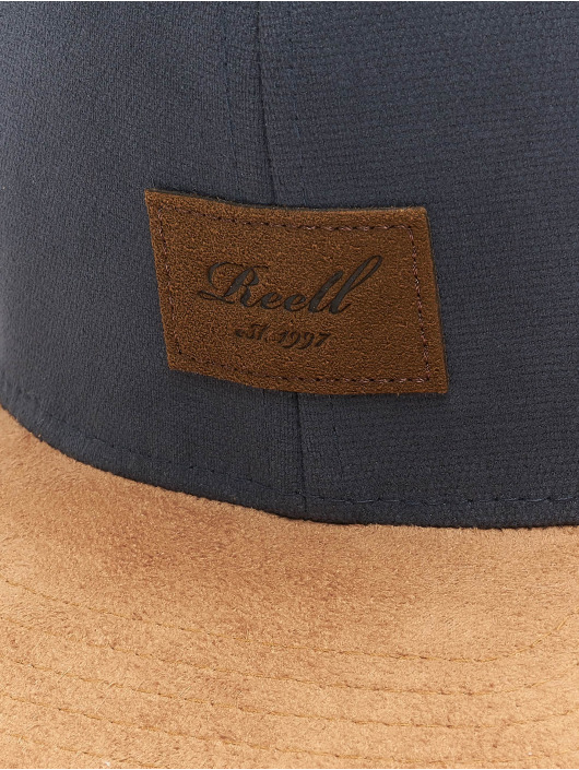 Reell Jeans Snapback Cap Suede grau