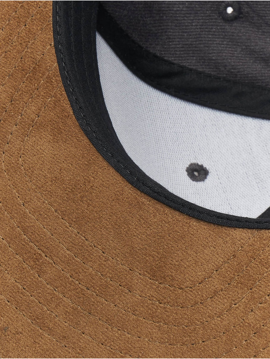 Reell Jeans Snapback Cap Suede 6 Panel grigio