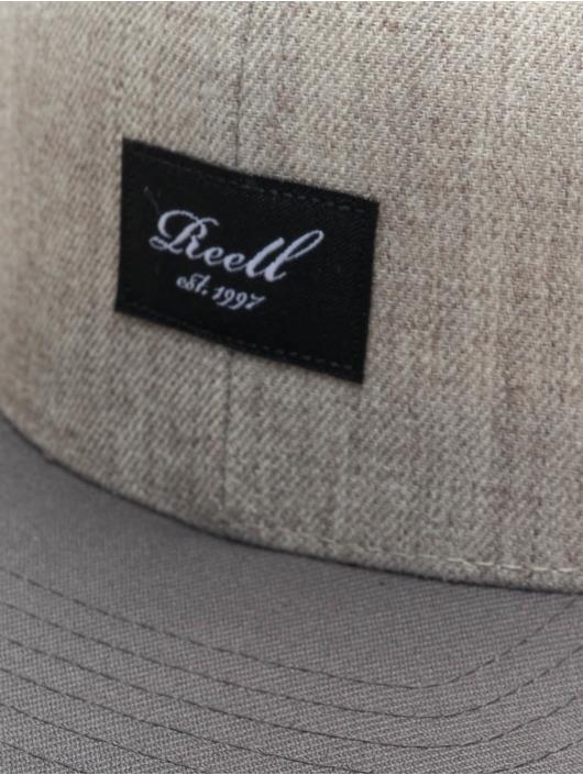 Reell Jeans snapback cap Pitchout grijs