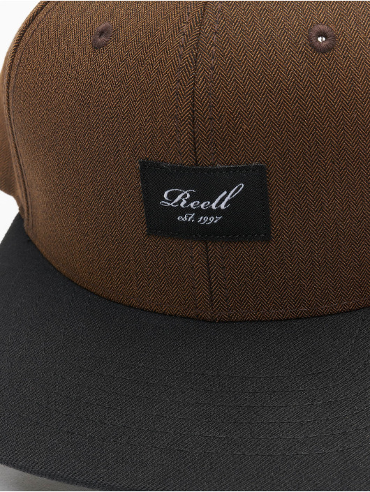 Reell Jeans Snapback Caps Pitchout brun