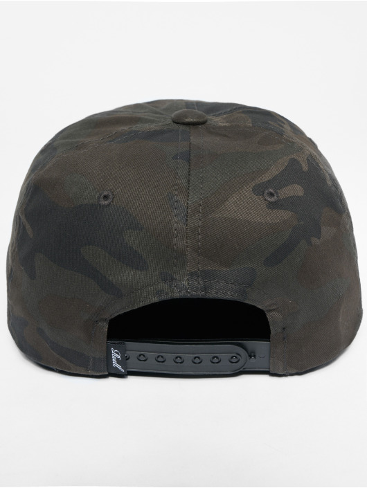 Reell Jeans Snapback Caps Suede camouflage
