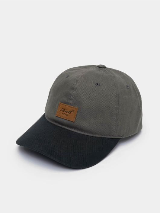 Reell Jeans Snapback Caps Tone 6 Panel grå