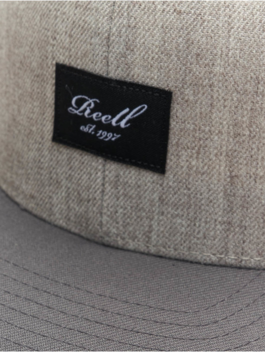 Reell Jeans Snapback Caps Pitchout grå
