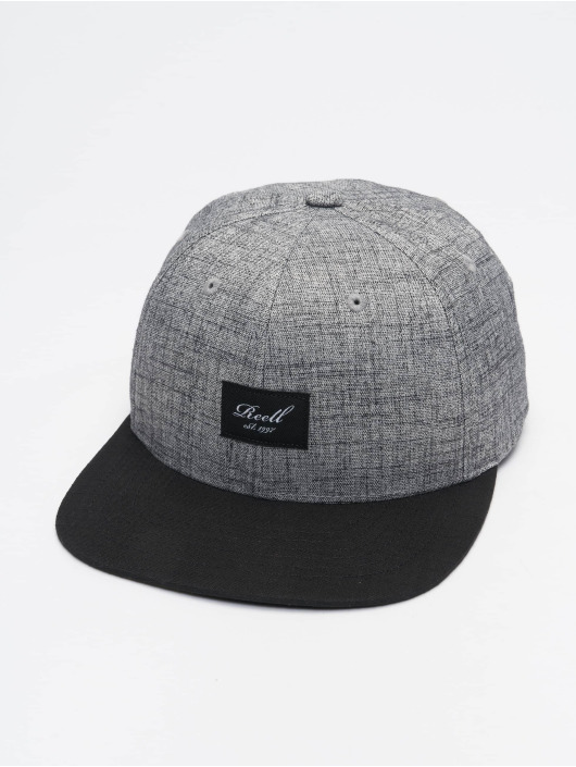 Reell Jeans Snapback Caps Pitchout harmaa