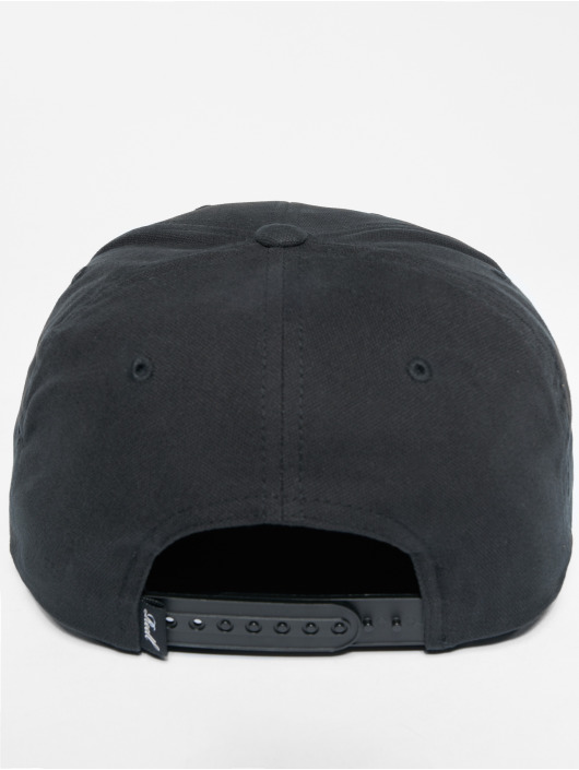 Reell Jeans Snapback Caps Suede musta