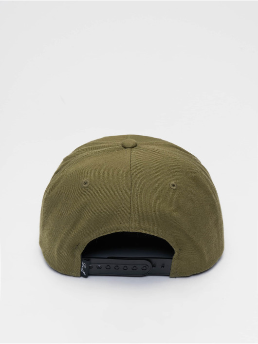 Reell Jeans Snapback Caps Pitchout 6 Panel oliivi