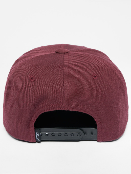 Reell Jeans Snapback Caps Suede red