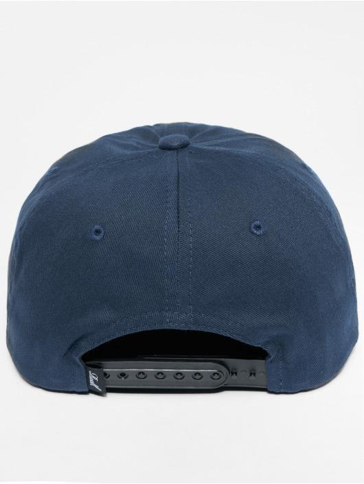 Reell Jeans Snapback Caps Suede sininen