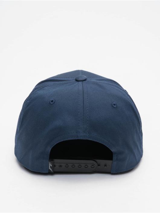 Reell Jeans Snapback Suede modrá