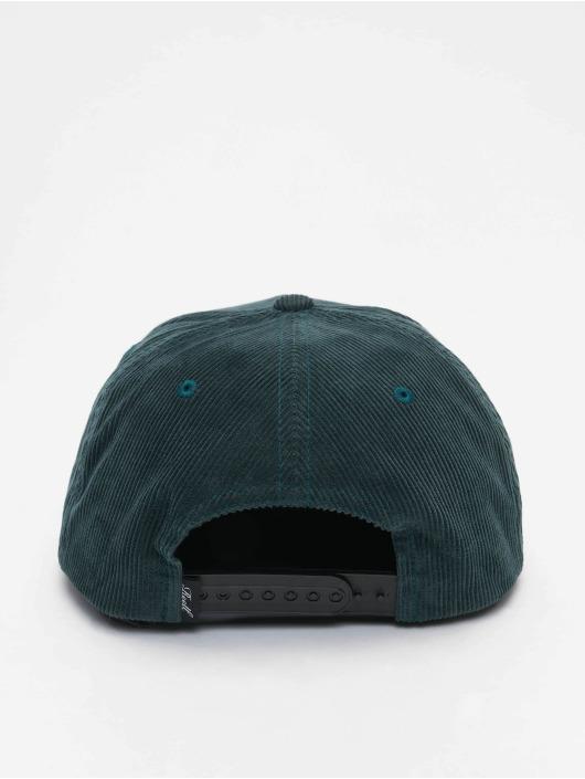 Reell Jeans Snapback Suede zelená