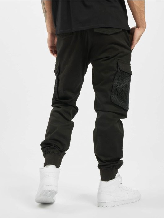 Reell Jeans Spodnie Chino/Cargo Mesh Reflex Rib czarny