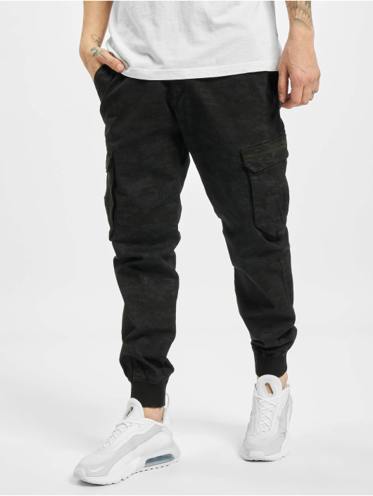 Reell Jeans Spodnie Chino/Cargo Reflex Rib Cargo Pants Shadow moro
