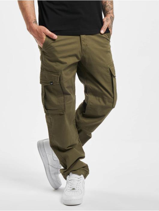 Reell Jeans Spodnie Chino/Cargo Flex Cargo oliwkowy