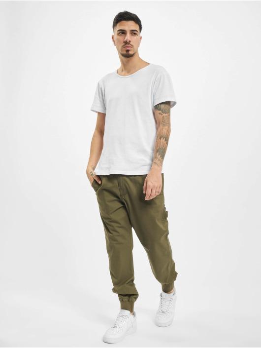 Reell Jeans Spodnie Chino/Cargo Reflex Rib Worker LC oliwkowy