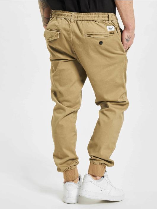 Reell Jeans Spodnie do joggingu Reflex bezowy