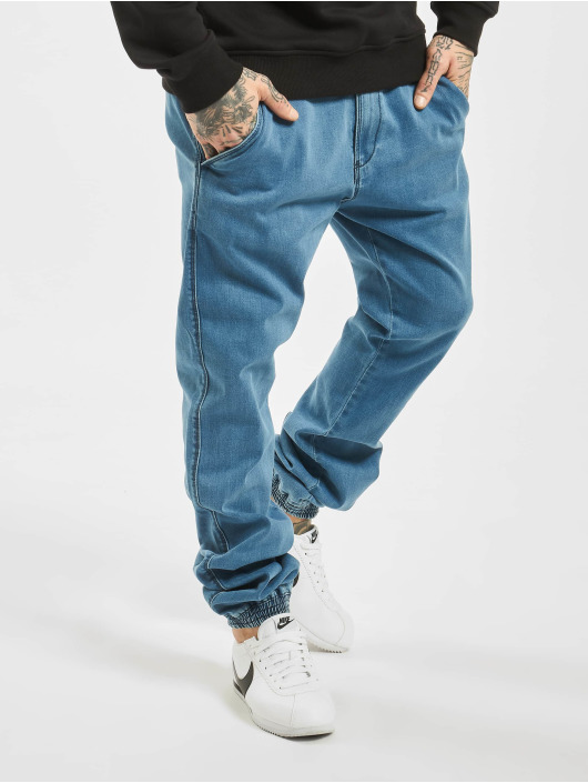 Reell Jeans Spodnie do joggingu Reflex niebieski