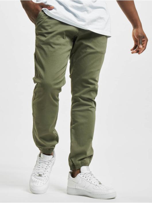 Reell Jeans Spodnie do joggingu Reflex II oliwkowy