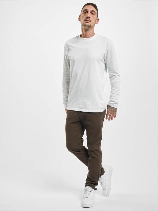 Reell Jeans Spodnie wizytowe Superior Flex brazowy