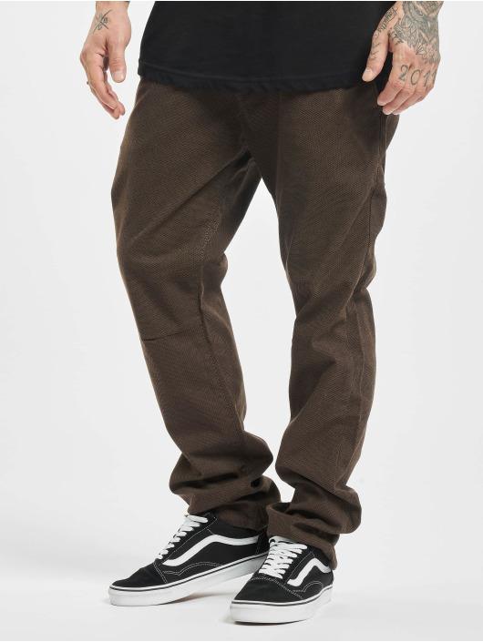 Reell Jeans Spodnie wizytowe Reflex Evo brazowy