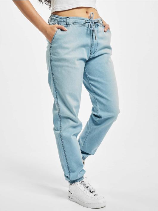 Reell Jeans Spodnie wizytowe Reflex niebieski