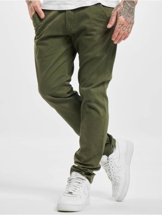 Reell Jeans Spodnie wizytowe Flex Tapered oliwkowy