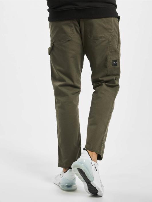 Reell Jeans Spodnie wizytowe Reflex Easy Worker oliwkowy