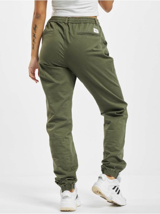 Reell Jeans Spodnie wizytowe Reflex oliwkowy