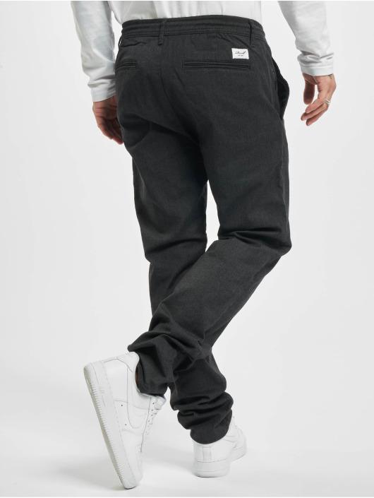 Reell Jeans Spodnie wizytowe Reflex Evo szary