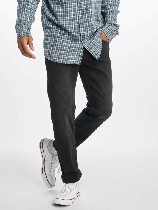 Reell Jeans Straight Fit farkut Trigger II musta