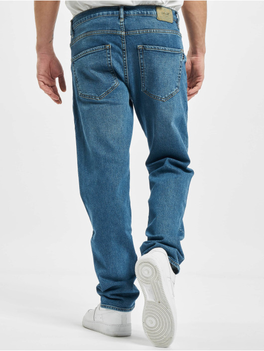 Reell Jeans Straight Fit Jeans Barfly blå