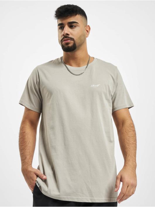 Reell Jeans T-Shirt Regular Logo grau