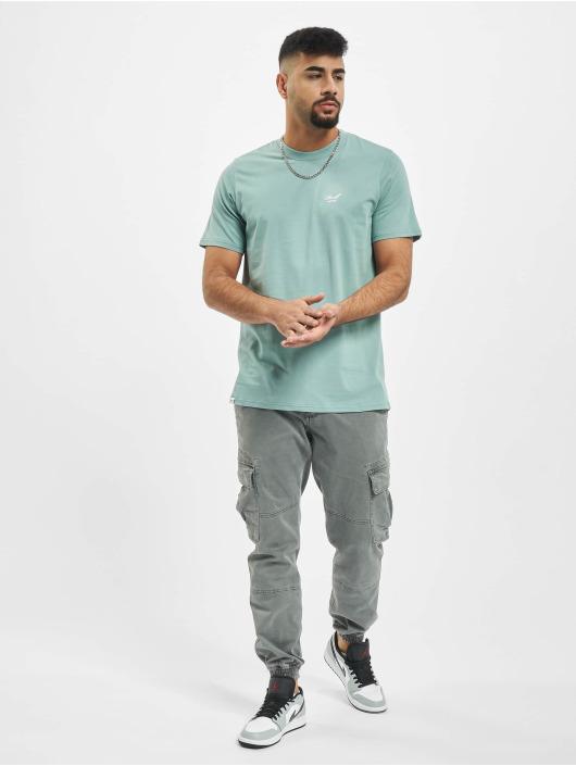 Reell Jeans T-Shirt Regular Logo grün