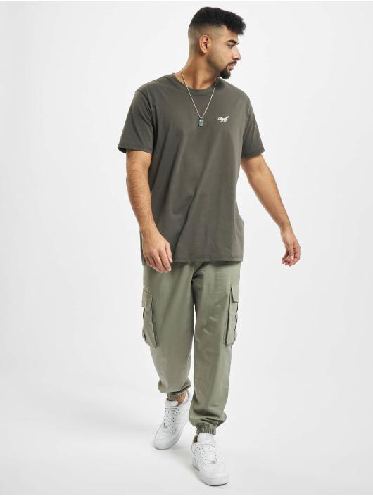 Reell Jeans T-Shirt Regular Logo khaki