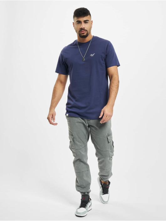 Reell Jeans T-Shirt Regular Logo purple