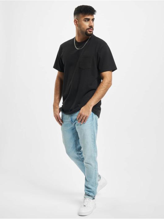 Reell Jeans T-Shirty Popcorn czarny