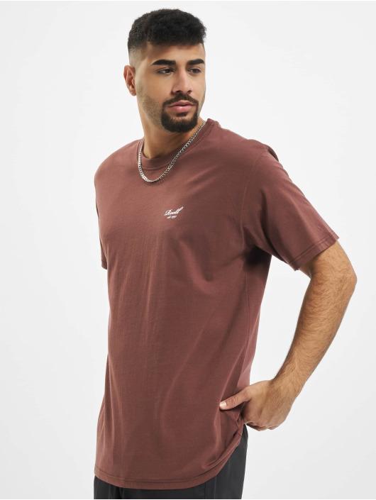 Reell Jeans T-Shirty Regular Logo czerwony