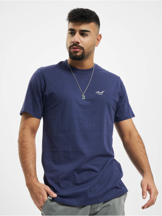 Reell Jeans T-Shirty Regular Logo fioletowy