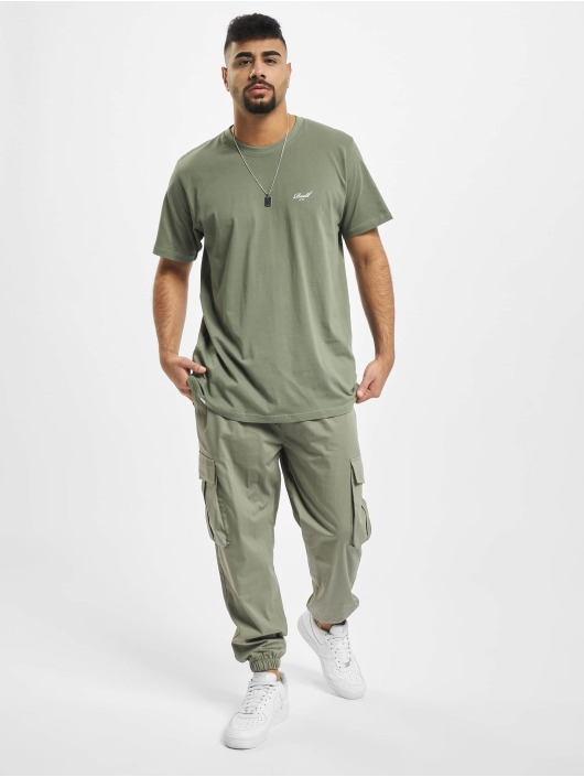 Reell Jeans T-Shirty Regular Logo zielony