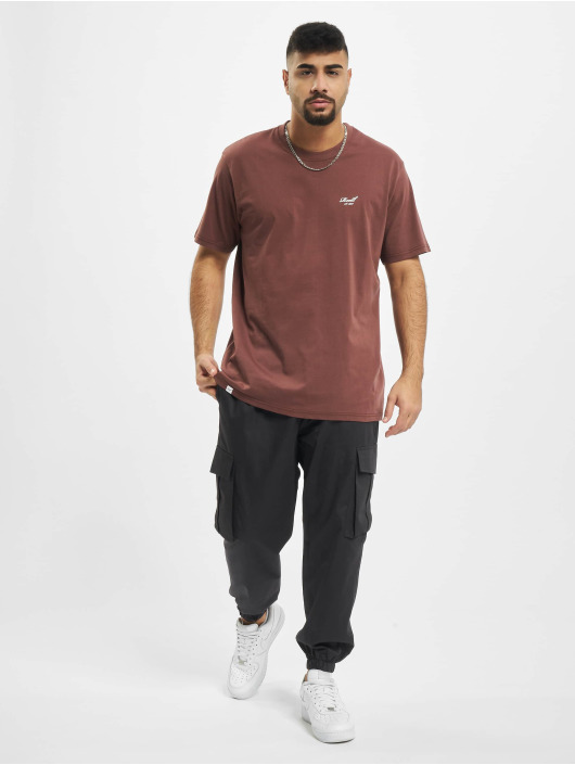 Reell Jeans Tričká Regular Logo èervená