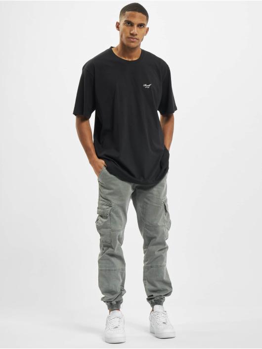 Reell Jeans Tričká Regular Logo èierna