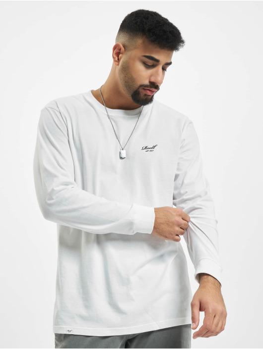 Reell Jeans Tričká dlhý rukáv Regular Logo biela