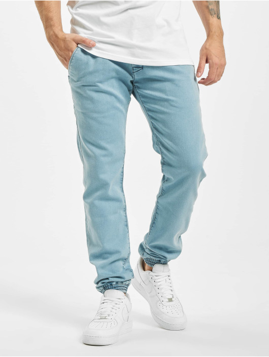 Reell Jeans Tygbyxor Jogger blå