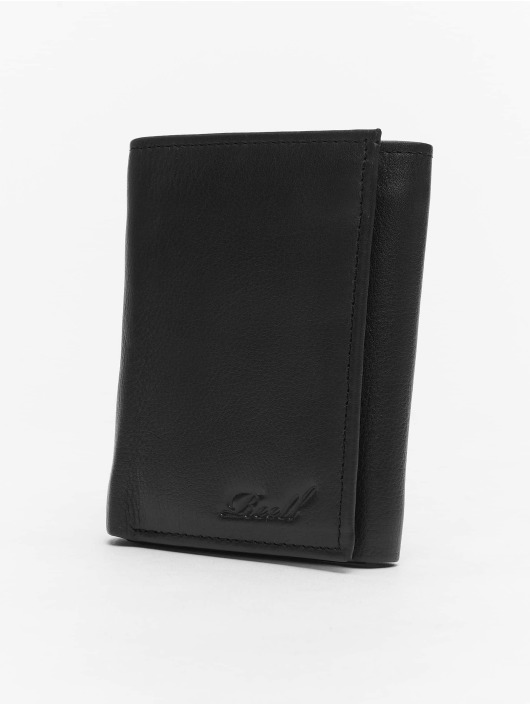 Reell Jeans Wallet Mini Trif. Leather black