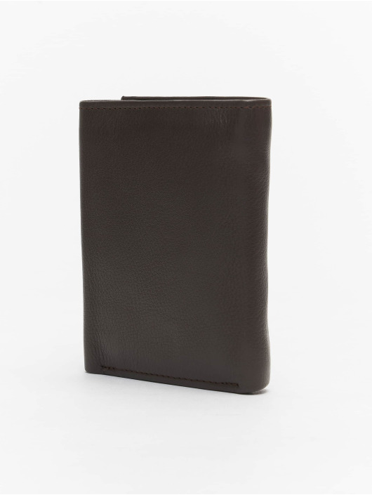 Reell Jeans Wallet Mini Trif. Leather brown