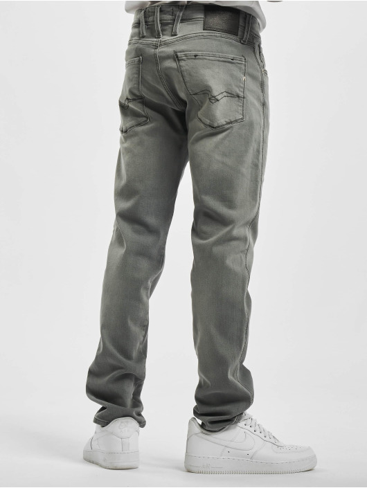 Replay Slim Fit Jeans Anbass серый