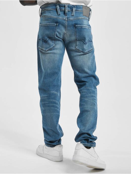 Replay Slim Fit Jeans Anbass синий