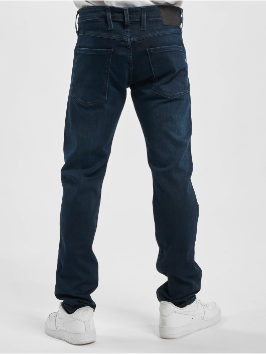 Replay Slim Fit Jeans Anbass indaco