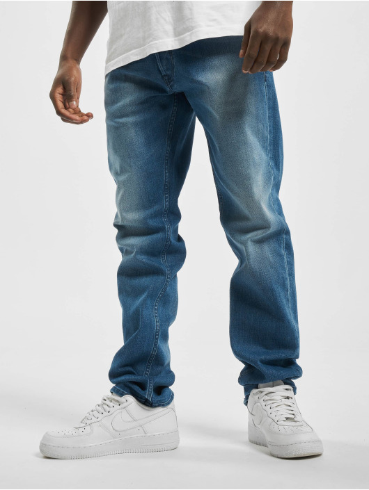 Replay Straight Fit Jeans Denim Grover blå